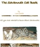 Savannah cat book by Lorre Smith